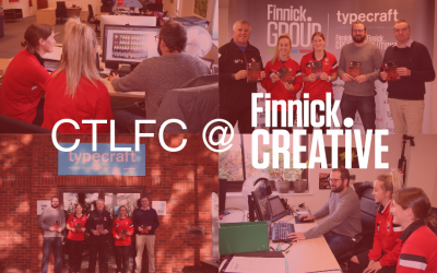 Cheltenham Town Ladies Football Club Visit Finnick Creative!