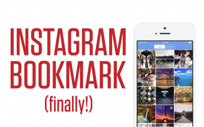 Instagram Bookmarks